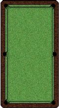 HALF PRICE ARTSCAPE POOL TABLE CLOTH GREEN GRASS ART SCAPE Speed 6ft or 7ft